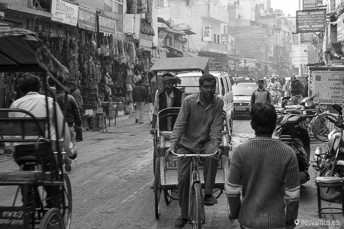 Conductor de rickshaw