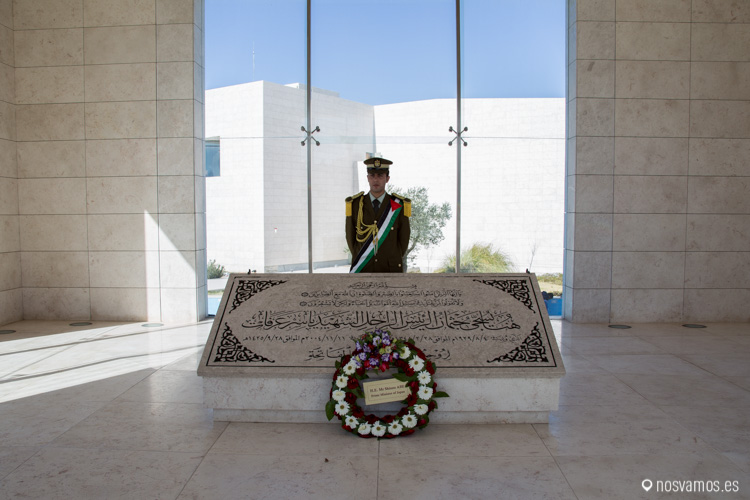 En la Mukata (Muqataa) fue enterrado en 2004 Yasser Arafat