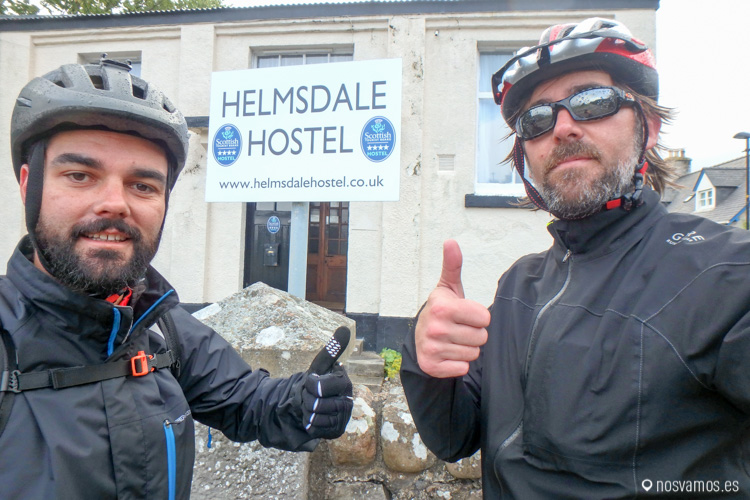 en bici desde Durness a Helmsdale
