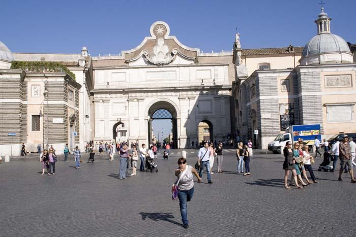 Piazza del Popolo. Roma.