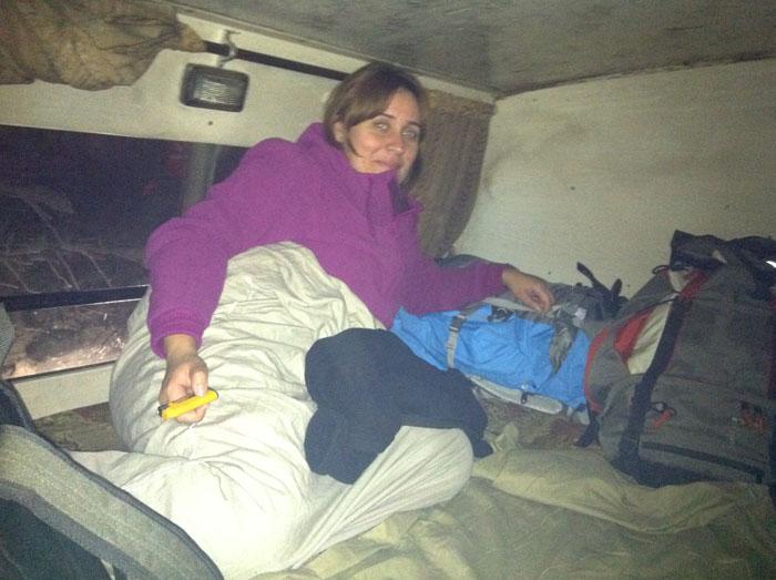 Entre Udaipur y Pushkar ogimos un autobús cama nocturno... la historia es para un post completo.