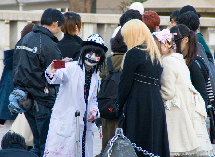 Cosplay girls en yoyogi Park