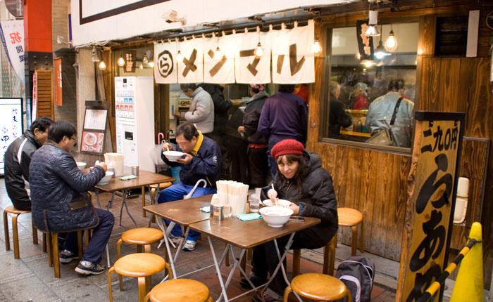 Ramen o Udon, la comida básica en casi todo nuestro viaje. DELICIOSO!!!