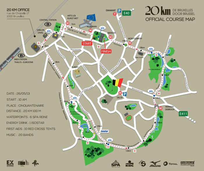 Circuito de los 20km de Bruselas