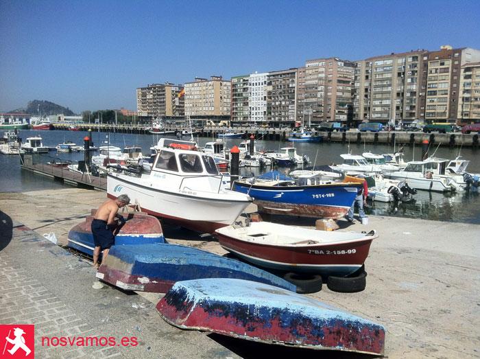 Barrio pesquero