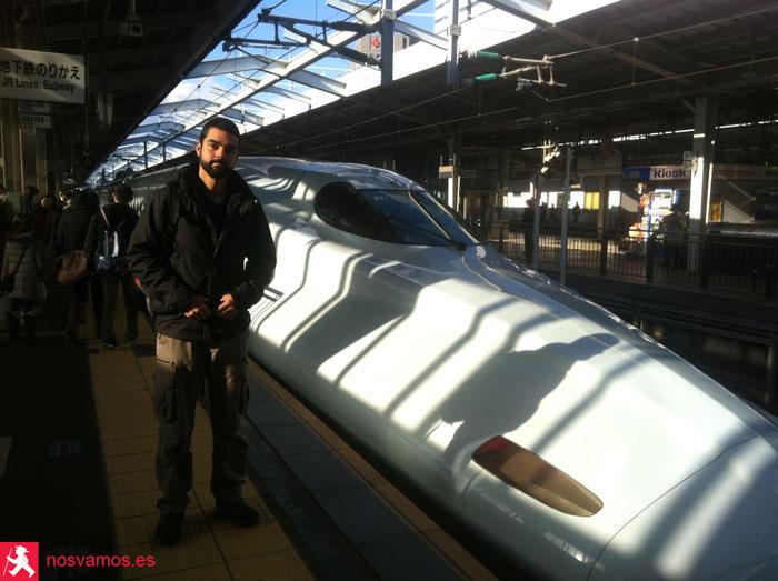 Nuestro tren a Hiroshima