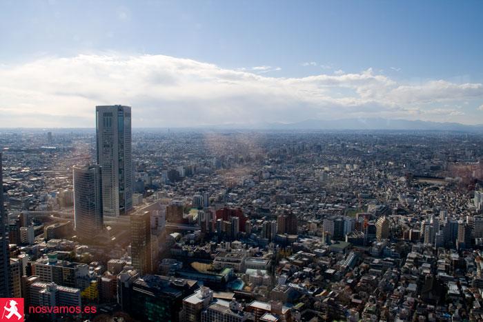 Vistas desde las torres del Gobierno Metropolitano