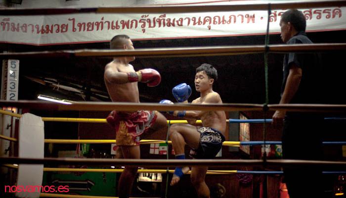 Segundo combate con pesos medios