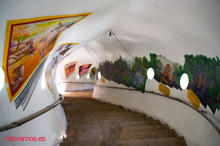 Interior del dragón