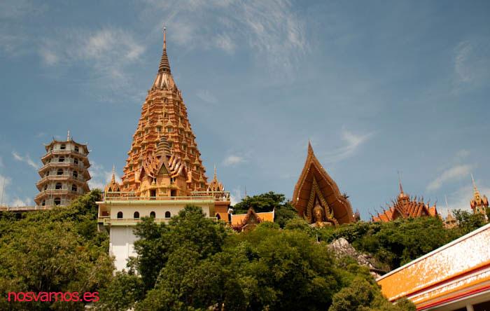 Vista del templo desde la calle