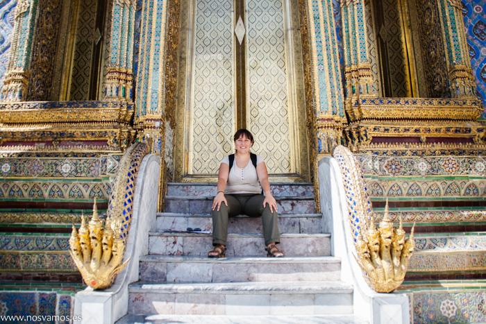 Todo en el palacio real es enorme