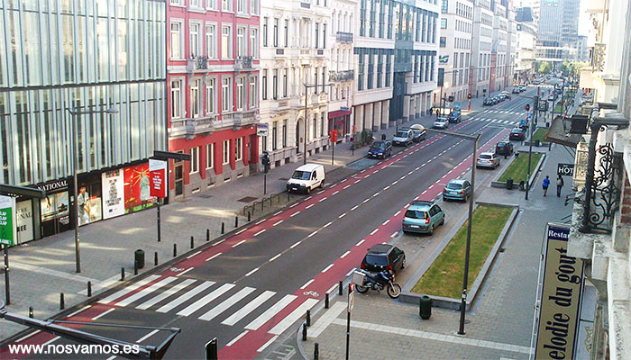 Vistas desde mi primer piso, calle Emilie Jaqcmain