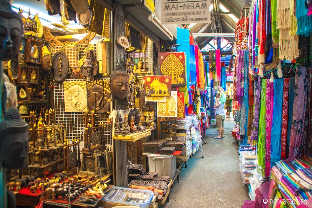 Mercado de Chatuchak, Bangkok