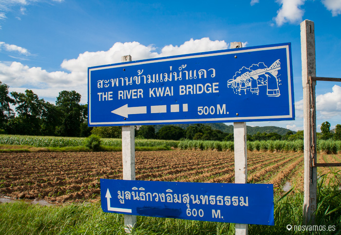 Indicaciones para llegar al Puente