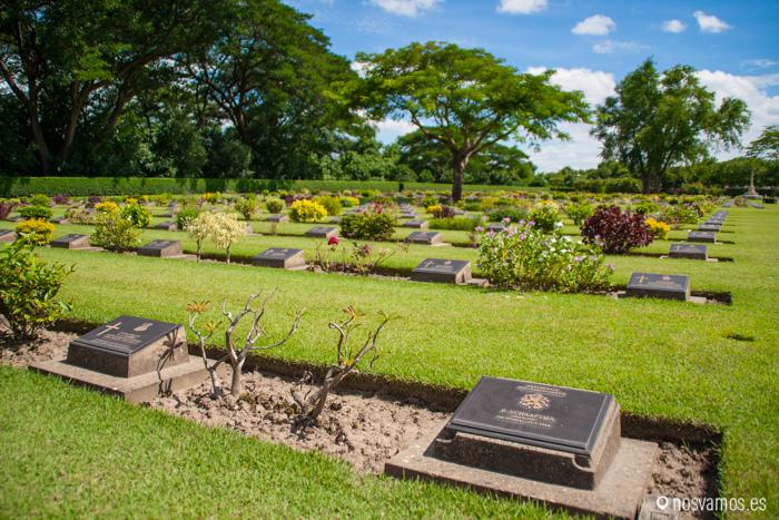 Cementerio de Guerra de Chungkai