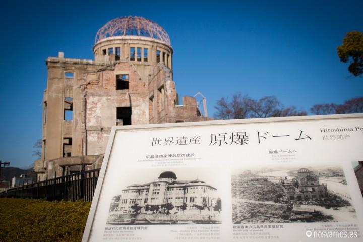 A-Bomb Dome, Hiroshima. Japón