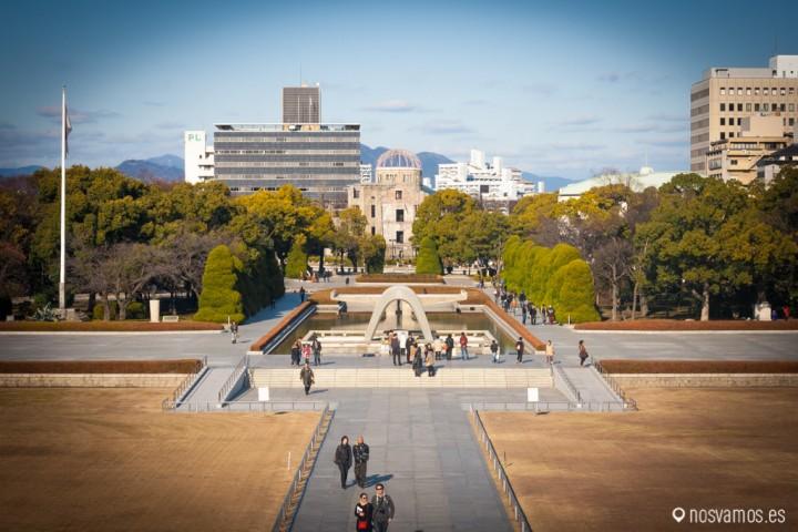 Parque memorial por la paz de hiroshima