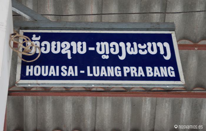 Estación de autobuses de Huay Xai o Houai Sai o Huan Xai, no lo tenemos claro