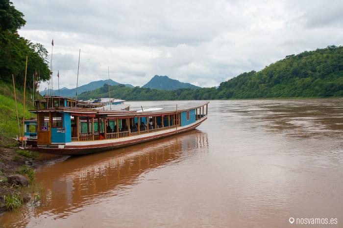 Barcas para hacer el trayecto Huay Xai a Luang Prabang en 2 días