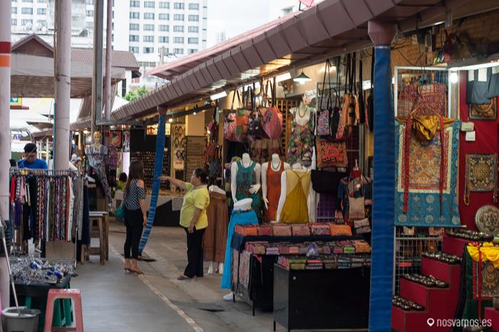 Puestos en la calle, Tailandia es una gran mercado