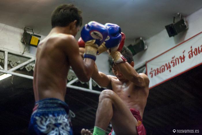 Velada de Muay Thai en Chiang Mai
