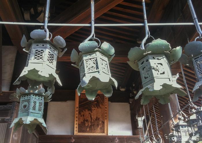 Faroles en Nigatsu-Do