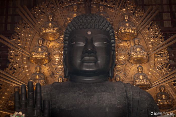 Detalle del Buda Gigante