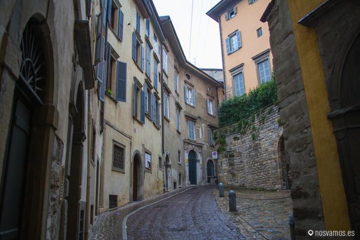 """Calles """"en cuesta"""" de la Citta Alta"""
