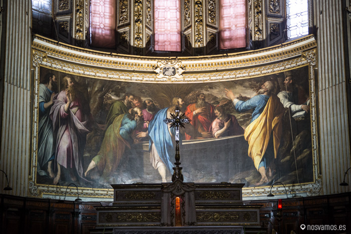 Retablo de la Basilica di santa maria maggiore