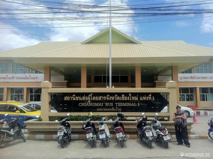 Terminal 3 de la estación de Chiang Mai