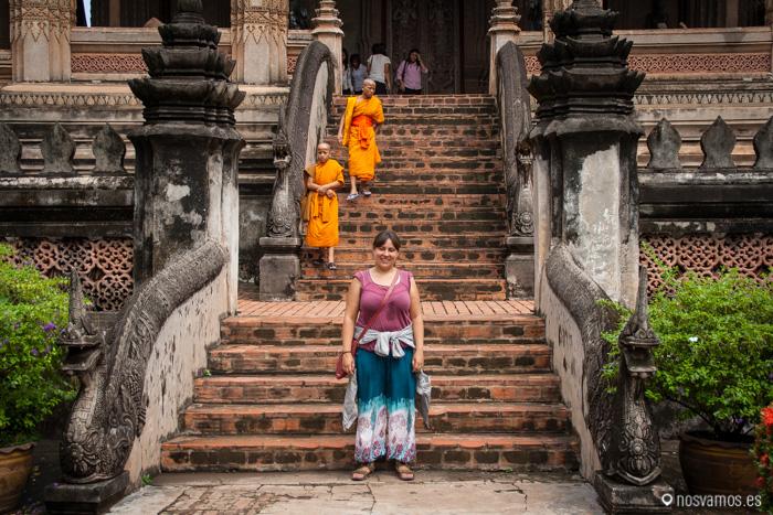 Entrada al Haw Pha Kaew
