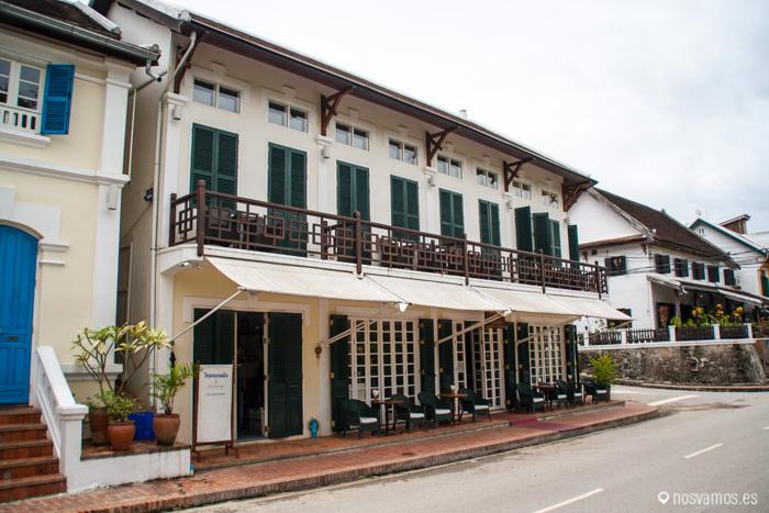 Arquitectura colonial Francesa, hay muchos edificios de este tipo