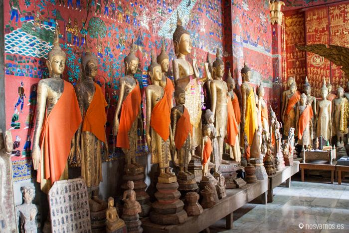 Esculturas de Buda en la cámara mortuoria © Juan José Cacho