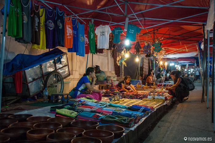 Mercado de Luang Prabang  © Juan José Cacho