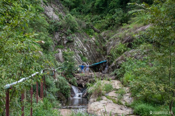 Cascadas de Pam Bok