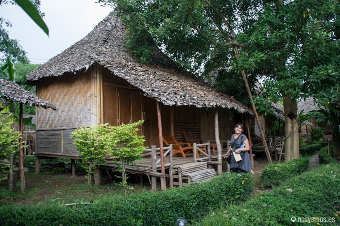 Nuestra casita de bambú