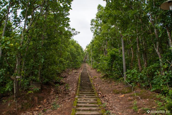 353 escaleras ...