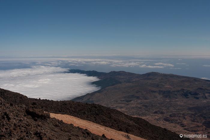 Vistas de la isla desde el Teide