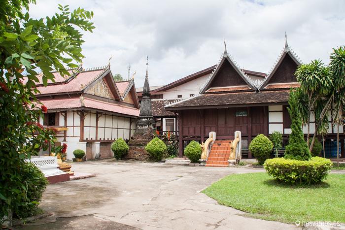 Jardines del Wat Si Saket © Juan José Cacho