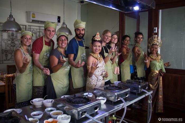 Curso de cocina tailandesa en May Kaidee, Bangkok