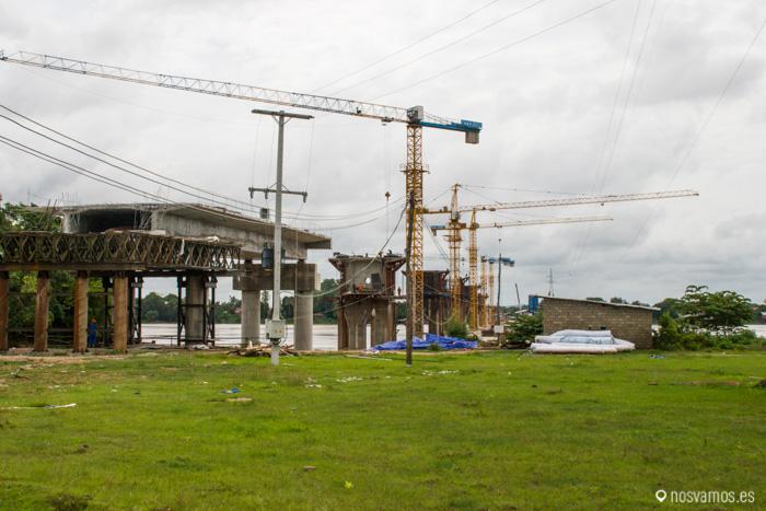 Un nuevo acceso permitirá a vehículos pesados legar a la isla
