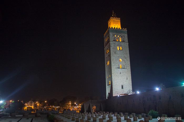 Mezquita Koutoubia, el edificio más alto de Marrakech