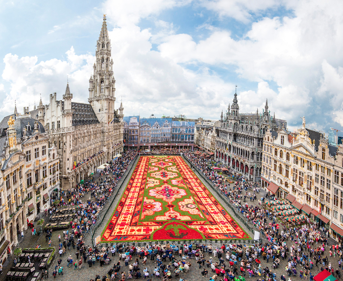 Tapiz de Flores en Bruselas 2014
