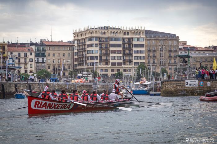 Los gallegos salen a la mar