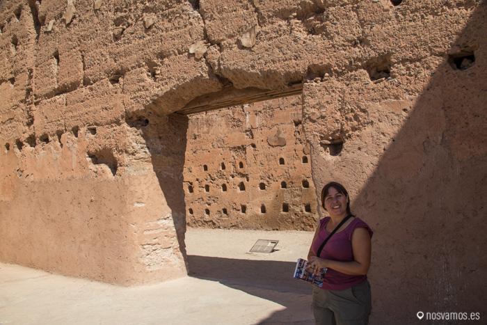 Muralas del Palacio El Badii