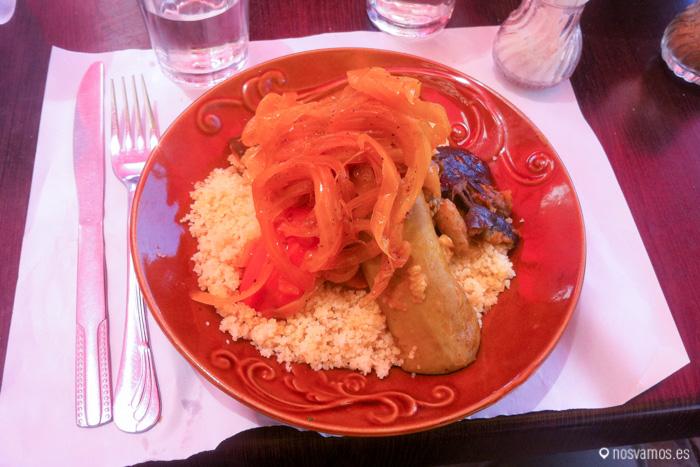 Estrenando la temporada de couscous en Marrakech