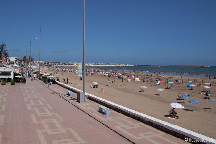 Una de las playas de El Jadida