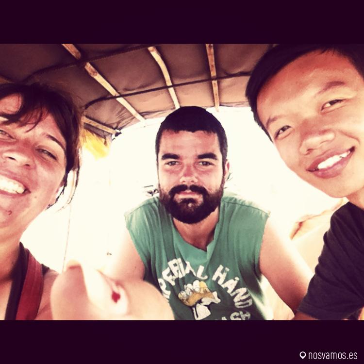 Con nuestro amigo Lee