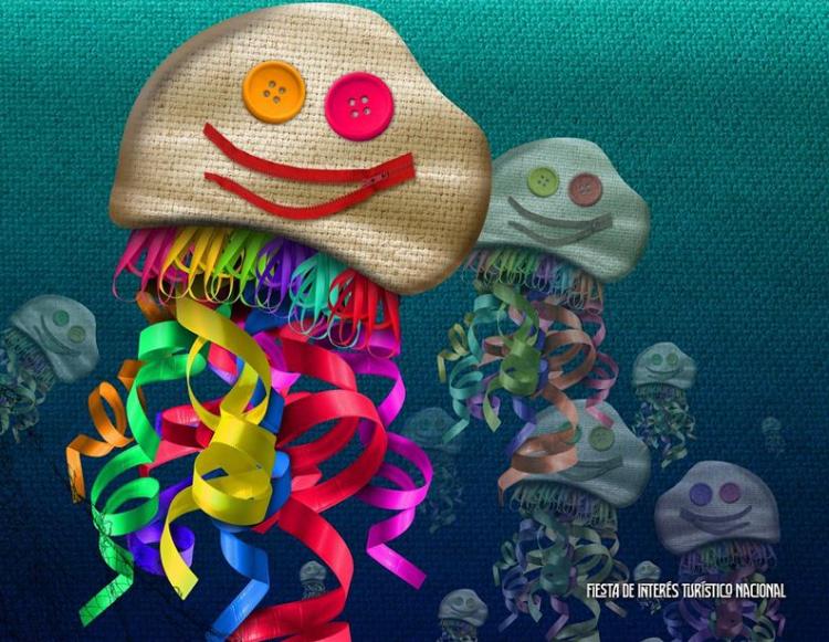 Las medusas con wasa anuncian este año los carnavales de Santoña