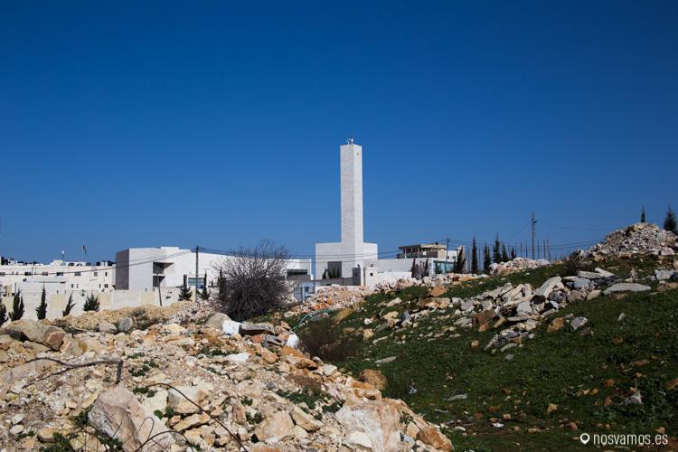La Mukata (Muqataa), antigua sede de la Autoridad Nacional Palestina